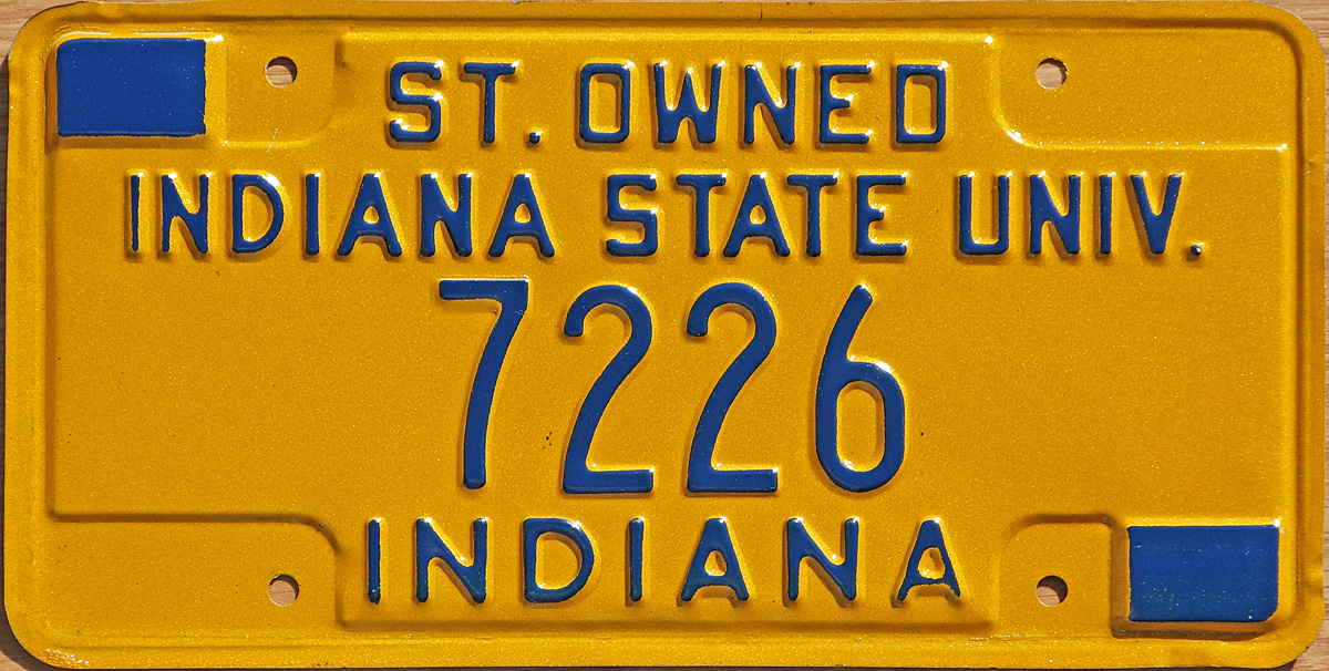 1976 State Owned Indiana State