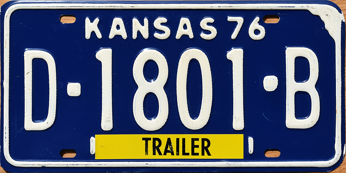 KS 1976 Trailer Dealer