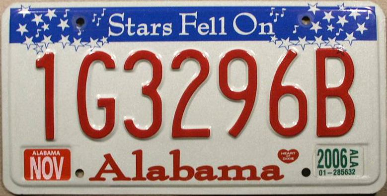 Alabama Car Tags >> License Plates Police Forums Law Enforcement Forums