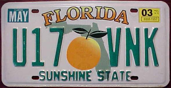 Florida...The Sunshine...