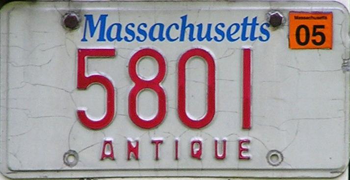 2005 Antique & Massachusetts...Spirit of America