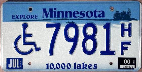 Minnesota 10 000 Lakes
