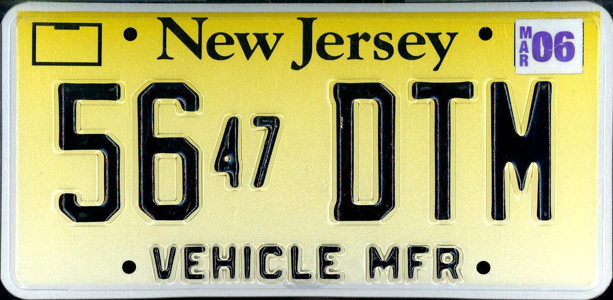 New Jersey Car Dealers License