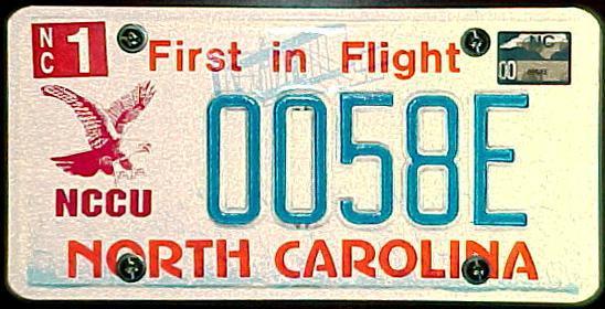 North Carolina...The Tarheel State