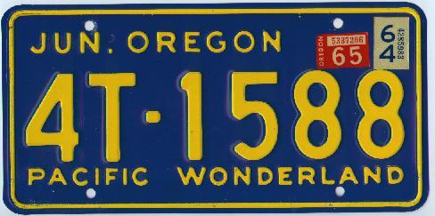 New Oregon License Plates