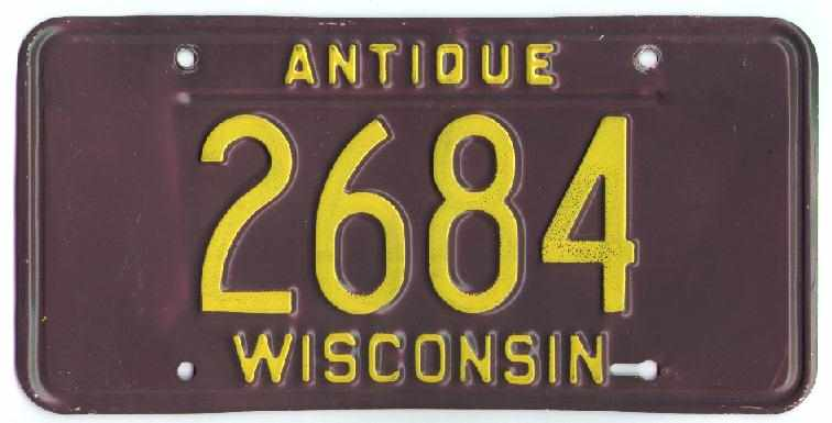 ANTIQUE LICENSE PLATE APPLICANT CERTIFICATION