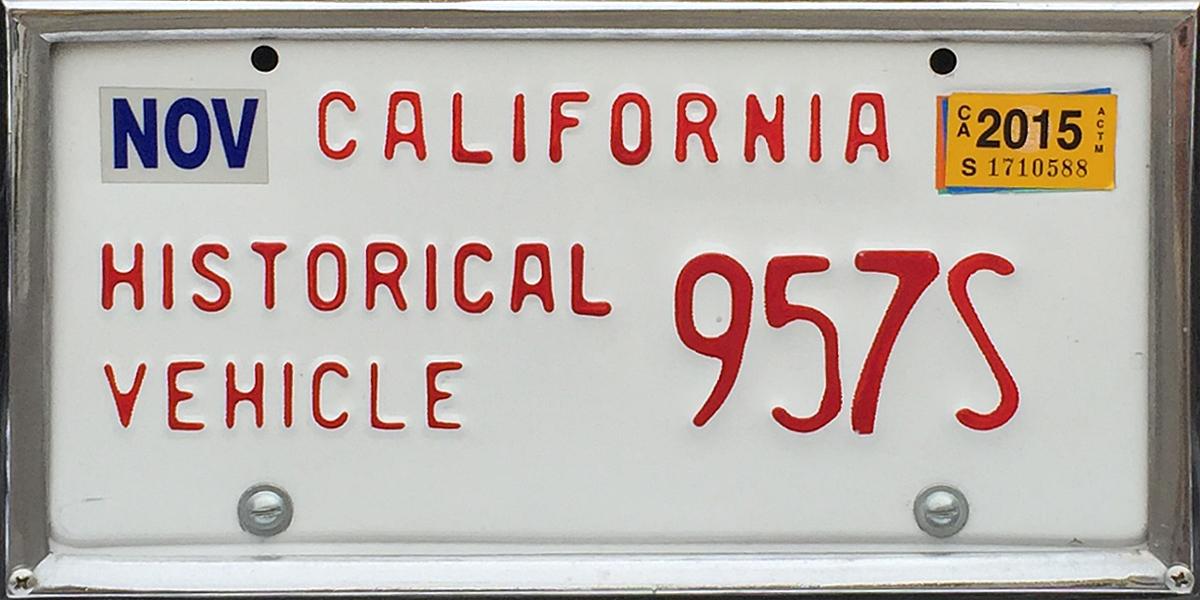 California License Plate History >> California 4 Y2k