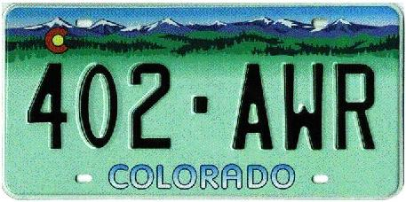 Colorado license plates denver county download free for Colorado department of motor vehicles driver s license northglenn co