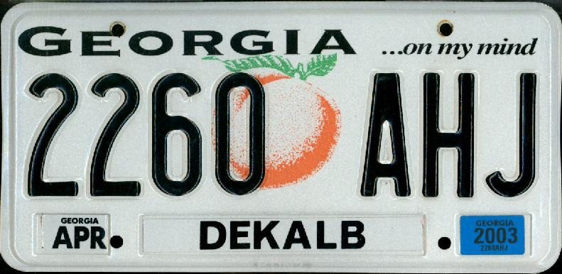 Georgia...The Peach State