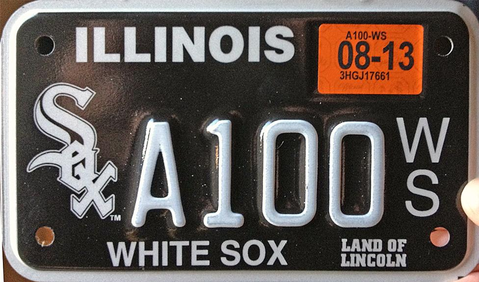 Click on plate for a little larger image & Illinois 4 Y2K