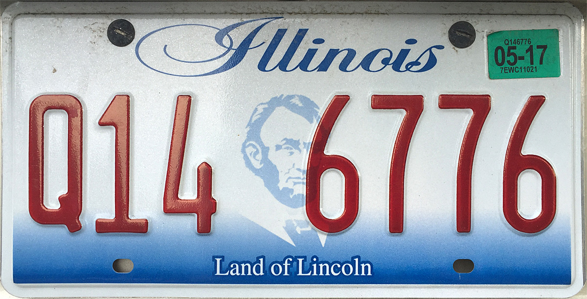 Illinois car registration renewal fee 2017