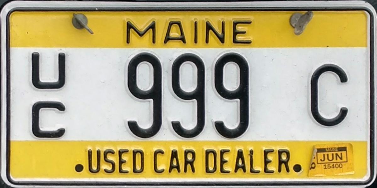 Maine Used Car Dealer License