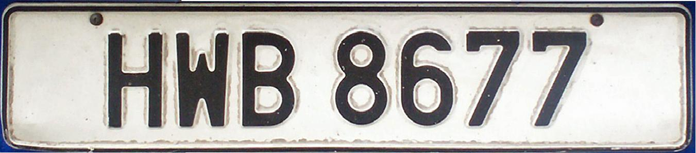 Car plate malaysia  CARSPART