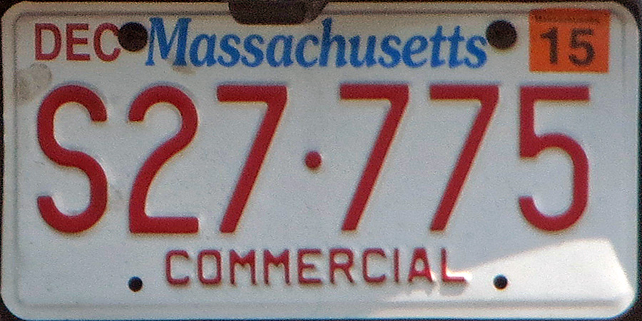 Click on plates for larger image & Massachusetts 4 Y2K