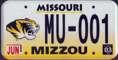 University of Missouru