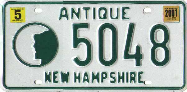 March 2004 expiration on New H&shire dealer license plate. Image sent by Joe Sallmen of Fairmont West Virginia  sc 1 st  The Plate Shack & New Hampshire Y2K
