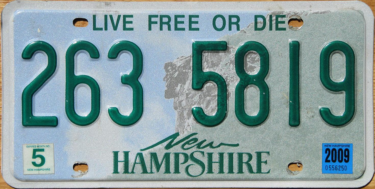 Phish.Net: Best US state license plate