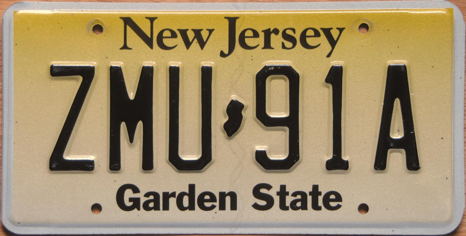License Plate Camera >> New Jersey 3