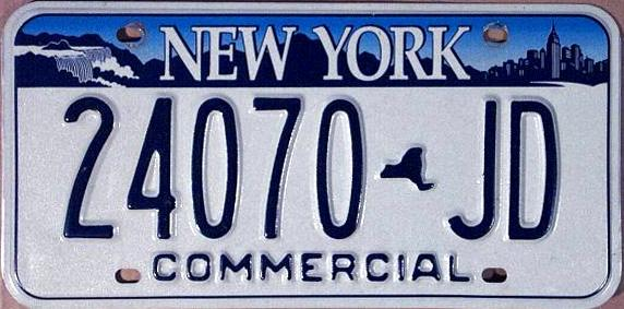 New York Car License Plate Download Free Backupermobility