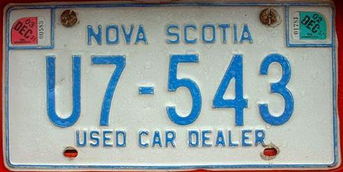 NS 2003 Used Car Dealer