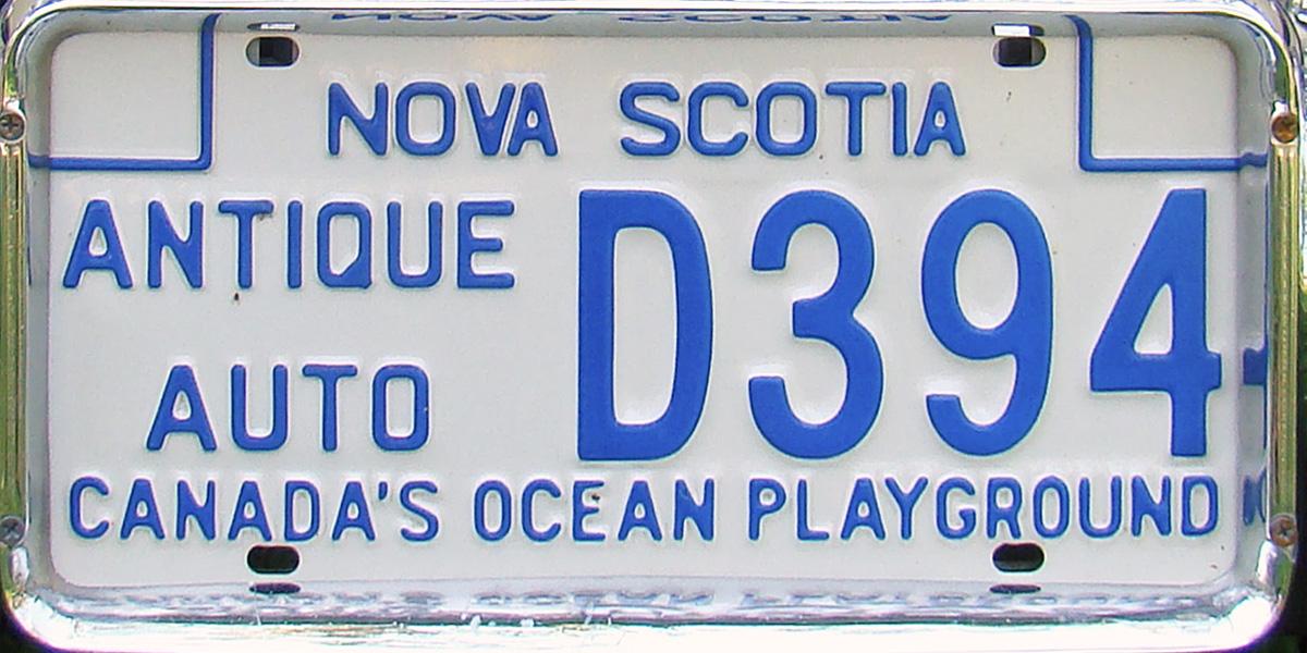 Cost Of Car Registration Fees In Nova Scotia