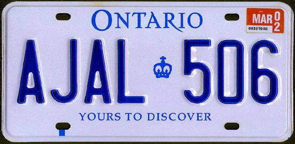 C4n 4d4 canadian license plate discussion canada forum for How much is a new york state fishing license