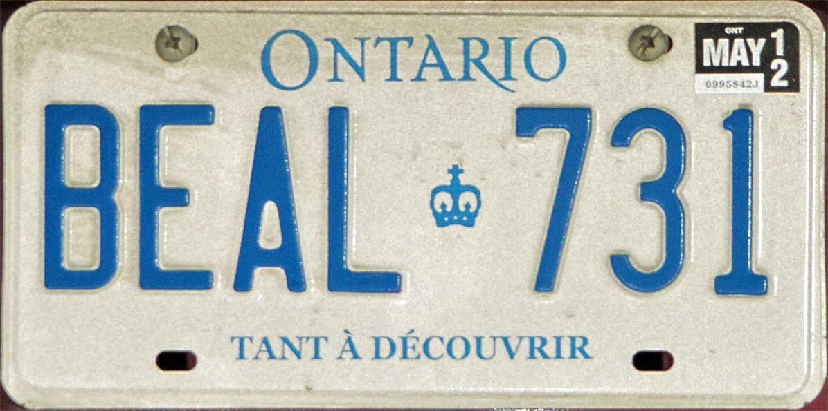Car Stickers Ontario