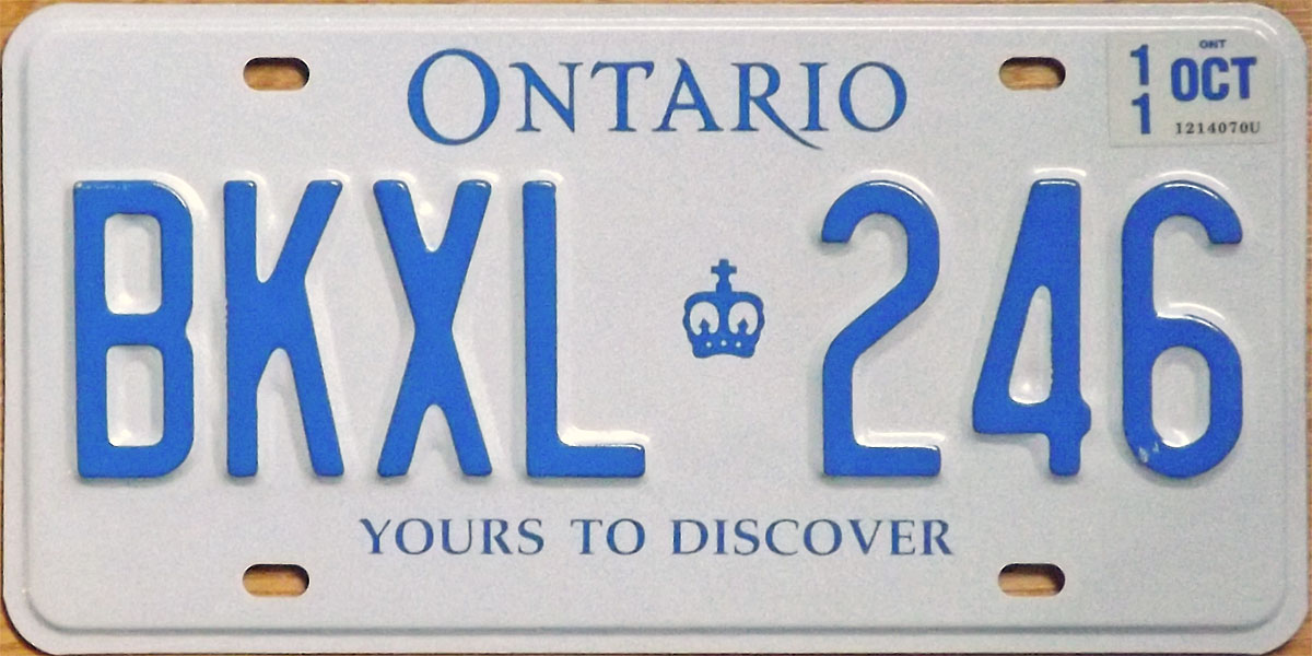 how to cancel plates in ontario