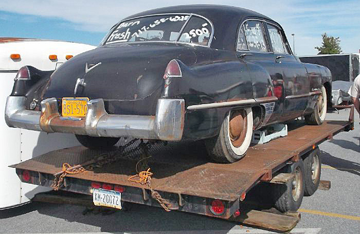 1969 Pennsylvania plate still on old barn find being hauled away in October of 2013 at Hershey PA car meet & Pennsylvania 6 Y2K