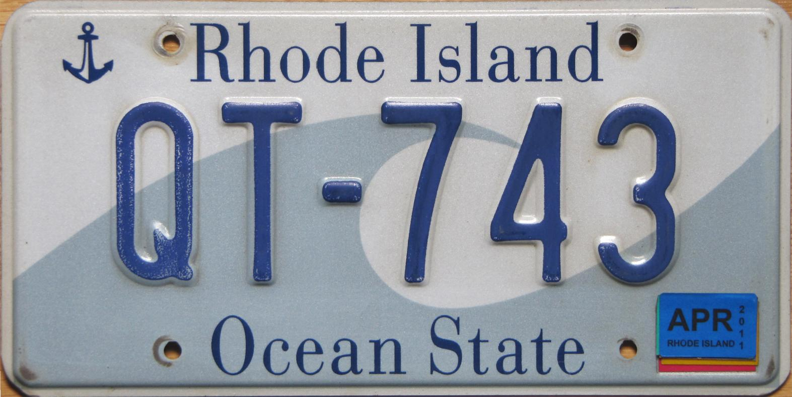 Rhode island department of motor vehicles vanity plates for Florida state department of motor vehicles orlando fl