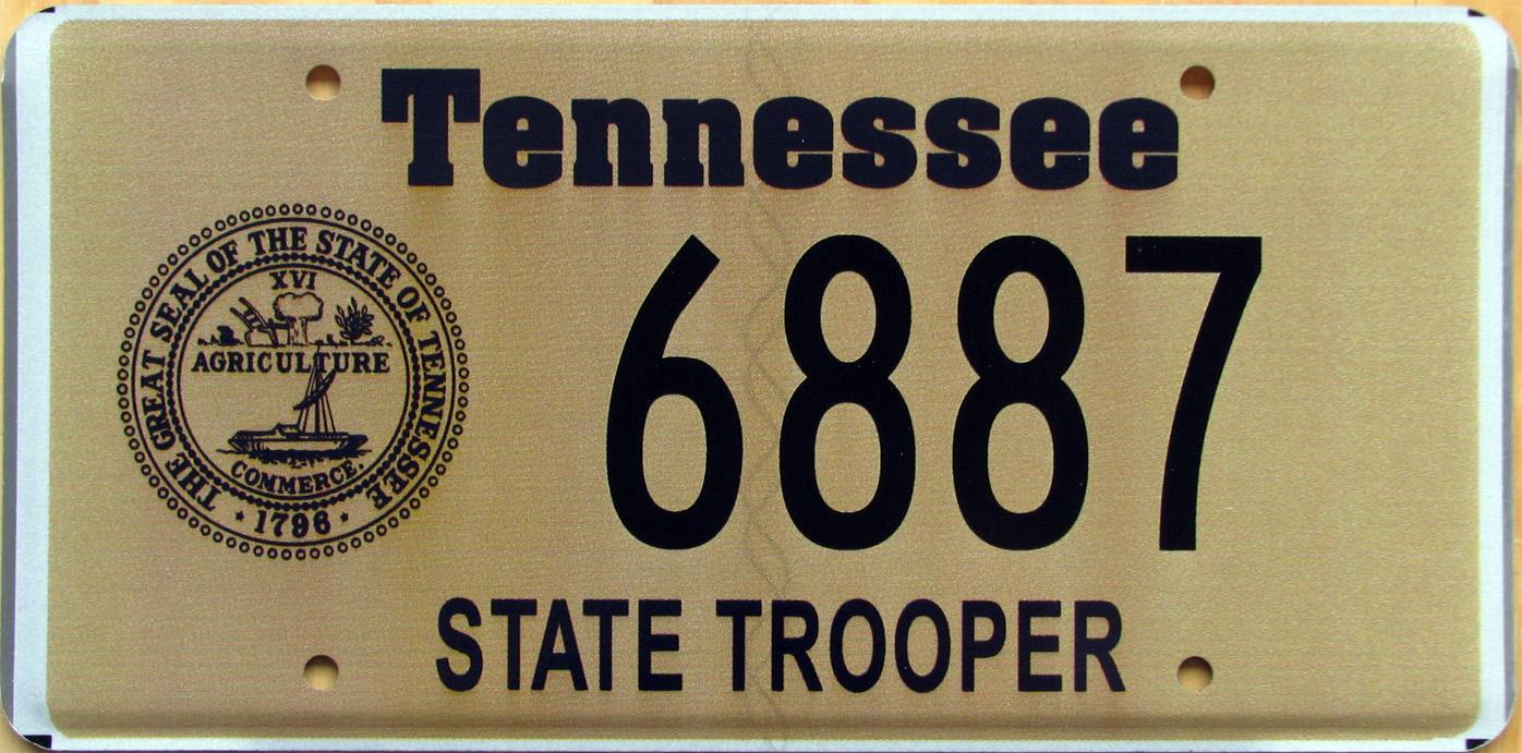 Excellent Tennessee State License Plates Images - Classic Cars ...