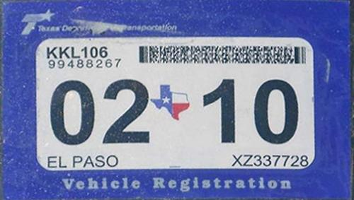 how to get an inspection sticker in texas