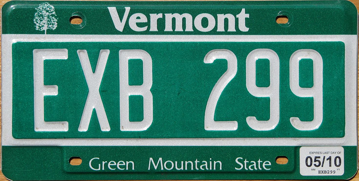 Vermont y2k for Fishing license vt