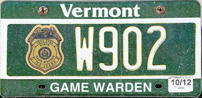 Vermont y2k for Vt fish and game license